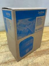 "NOS Brother RuggedJet RJ4030 4"" Portable Bluetooth Direct Thermal Label Printer"