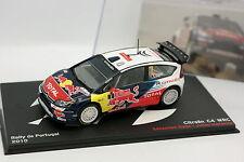 Ixo Presse 1/43 - Citroen C4 WRC Rallye Portugal 2010