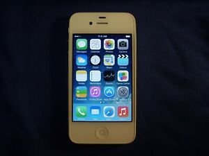 White Apple iPhone 4 8GB CDMA 3G Model A1349 *Read Description*             c1o
