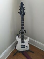 Jackson Js32-7 Dka Snow White 7 String Guitar in Excellent Condition