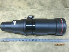 NEW BARCO DLP CInema B Series Long Throw 5.5-8.5 DCI Projection Lens Drive In!