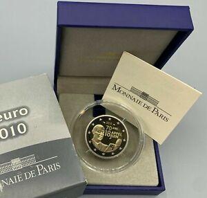 PIECE 2 EURO BE COMMEMORATIVE FRANCE 2010 APPEL DU 18 JUIN FRANKREICH PP PROOF