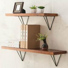 Scaffold Board Industrial Bookcases Rack Support Wall Mount Shelf Bracket 2PCS