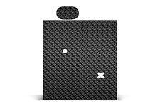 Skin Wrap For PAX Ploom 1 Vapor Decals Vinyl Skins Graphics Stickers CARBON