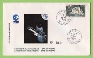 France 1978 IUE Satellite Launch Cape Canaveral Commemorative Space Cover
