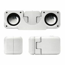 Portable Fold-Up Docking Station Stereo Speakers For Ipod/Mp3 Player Iphone Zune