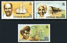 Cayman Islands 1974 Local Industries set of 3 Mint Unhinged