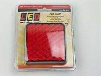 1 x LED AUTOLAMPS 81F Red Rear Fog Light Compact Slimline 12 Volt Truck Trailer