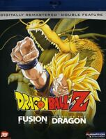Dragon Ball Z: Fusion Reborn / Wrath of Dragon [New Blu-ray]