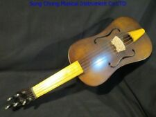 "Copy old vielle 5 strings 15 3/4"" vielle,medieval Fiddle powerful sound #7840"