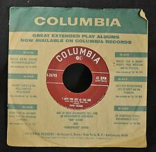 Floyd Tillman Columbia 20793 I Love You Just As You Are and I Don't Care Anymore