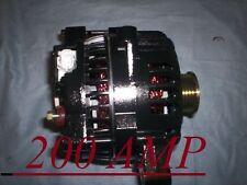 NEW Black ALTERNATOR FORD Mustang 200 HIGH AMP 2005 06 07 08 09 4.6L Generator
