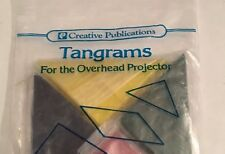 Tangram Set for Overhead Projector - Creative Publications Math MultiColor - New