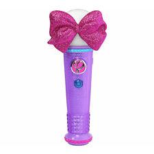 Jo Jo Siwa Light-Up Microfono Canta insieme a noi bambine giocattolo Boomerang canzone che canta