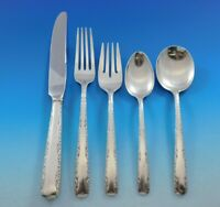 Camellia by Gorham Sterling Silver Flatware Set for 6 Service 34 pieces