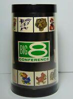Vintage 1970s BIG 8 CONFERENCE OKLAHOMA SOONERS KANSAS JAYHAWKS OSU KSU BEER MUG