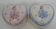 Cajas, tarros y latas decorativos de porcelana para el hogar
