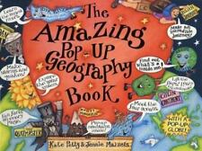 The Amazing Pop-Up Geography  Book (Amazing Pop-Ups) Petty, Kate Hardcover Used