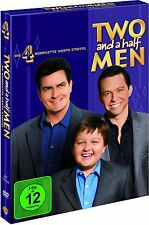 MEIN COOLER ONKEL CHARLIE, Staffel 4 (4 DVDs) NEU+OVP (Two And A Half Men)