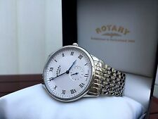 Mens Rotary watch SWISS MADE Sapphire glass RRP £260 Ideal Gift for Him Boxed