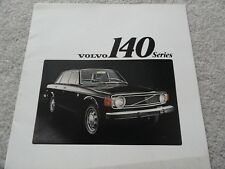 1973 Volvo 140 145 Sales Brochure