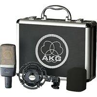 AKG C214 Large Diaphragm Studio Condenser Microphone