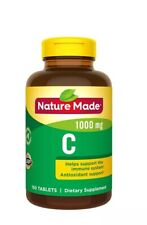 Nature Made Vitamin C 1000mg IMMUNE Support Healthy 150 Tablets
