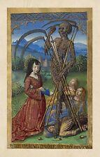 Fine Art Print Annunciation Master of Llangatook Illuminated Manuscripts