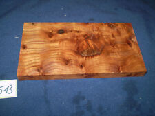 Rüster Maser Ulmenmaser Schmuckholz  Edelholz  200 x 105 x 16 mm    Nr. 513