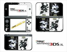 PIEL PEGATINA AUTOADHESIVA - NINTENDO NEW 3DS XL - REF 190 POKEMON N&B