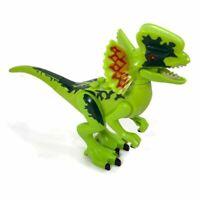 Lego Dinosaur DILOPHOSAURUS green minifigure 75916 Jurassic World New Sealed