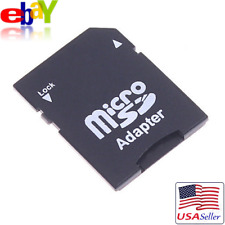 Micro Sd to Sd Hc Sdhc Memory Card Adapter Tf Reader Writer Portable New