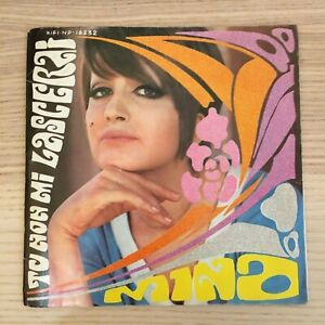"Mina _ Tu Non Mi Lascerai / Cartoline _ Copertina 45giri 7"" gatefold _RiFi 1967"