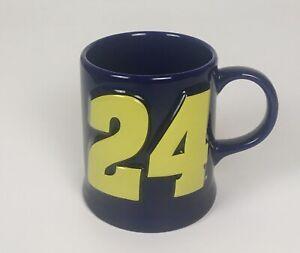 NASCAR Jeff Gordon #24 Expres Coffee Mug Cup 3D - Blue