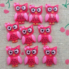 20 Owl Flatback Resin Cabochon Scrapbooking for craft.rose @1