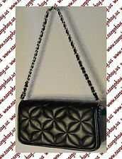 Kate Landry Black Quilted Mini Bag New Small Evening Purse Free Shipping