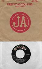 JEFFERSON AIRPLANE  Pretty As You Feel / Wild Turkey  rare 45 with PicSleeve