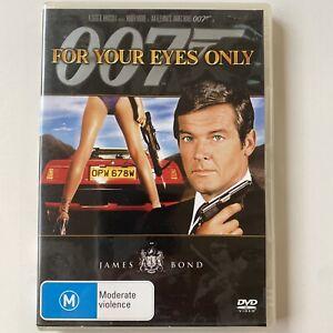 For Your Eyes Only - James Bond 007- Roger Moore (DVD) Australia Region 4