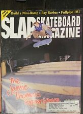 Slap Skateboard Magazine January 2002 Ray Barbee Jamie Thomas Poster!