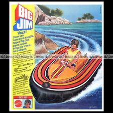 Mattel BIG JIM Secret Agent 004 - 1979 Pub Publicité Action Figure Ad #A231