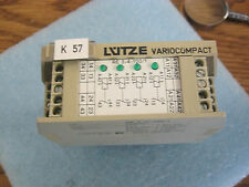 LUTZE TYPE: RE 3-4-100/1 ART. Nr 730171 OUTPUT RELAY MODULE 24V RE3-4-100/1 >