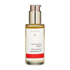 Dr. Hauschka Moor Lavender Calming Body Oil 75ml Bath Body Care Massage #14527