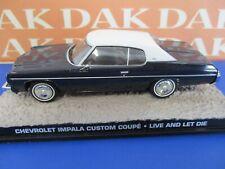 Die cast 1/43 Modellino Auto 007 James Bond Chevrolet Impala Custom Coupe Live