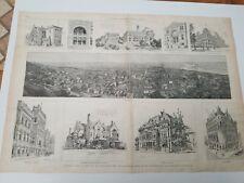 Cincinnati,Ohio,Vignette,June 30,1888+ 2 on back