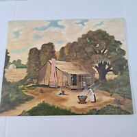 Vintage 1983 Painting On Canvas 16x20 Timothy Lee signed Painting