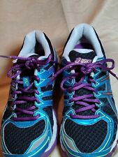 Asics gel Kayano 20 mens Size 8&1/2 Multi Color Tennis/running Shoes preowned
