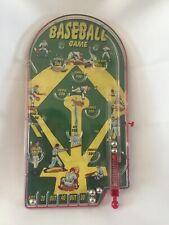 Schylling Retro Style Tabletop Pinball Baseball Game Circa 2007 Euc