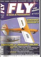 FLY N°177 PLAN : POKKER IX / SARATOGA/HANGAR --9 / DAUNTLESS/ASH 26 STAUFENBIEL