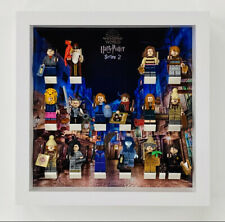 Display Frame for Lego Harry Potter Series 2 minifigures 71028 Figures 25cm