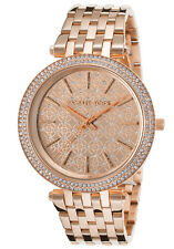 Michael Kors Women's MK3399 Darci Round Rose Gold-tone Bracelet Watch